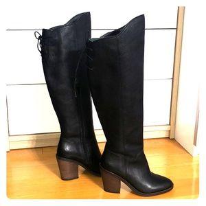 Lucky brand heel boots